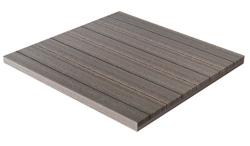 Picture of Vinyl Poly Patio Wood Simulated Outside Table Top