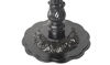 "Picture of 19"" Round Ornamental Black Cast Iron Base"