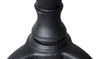 "Picture of 26"" Three Leg Pedestal Black Cast Iron Base"