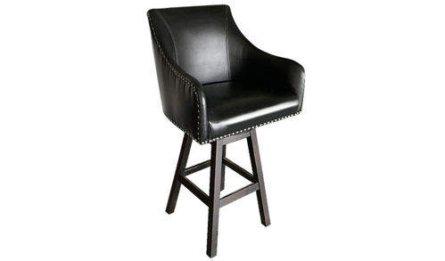 "30"" Seat Height Custom Bar Stool with Swivel"