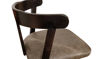 "42"" Empire Vinyl Upholstered Barstool with Maple Wood Back"
