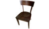 "Solid Walnut Wood 33"" Side Chair"