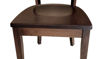 "33""  Ellis Solid Wood Frame Back Side Chair Seat"