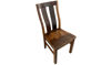 "38"" Chrysler Reclaimed Wood Slat Back Side Chair"