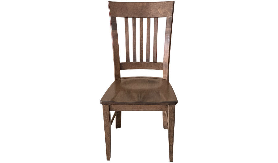 "Picture of 38"" Joanna Spindle Back Side Chair with Saddle Wood Seat"