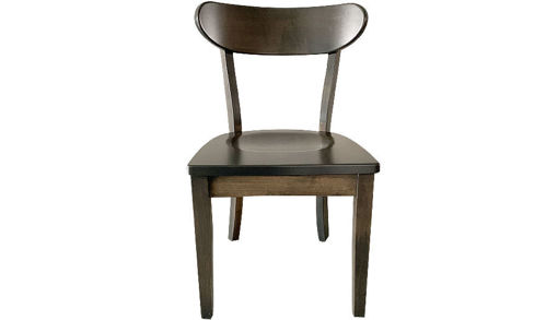 "Picture of 32"" Cara Solid Wood Side Curved Back and Saddle Seat"