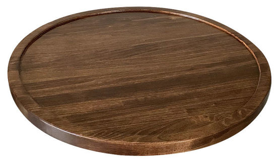 Picture of Poplar Round Table Top