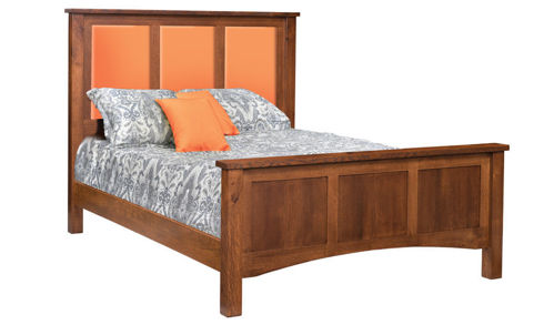 Picture of Pioneer Mission Queen Size Bed with Insert