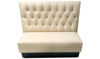 "Picture of 48""  Diamond Tufted Upholstered Single Booth"