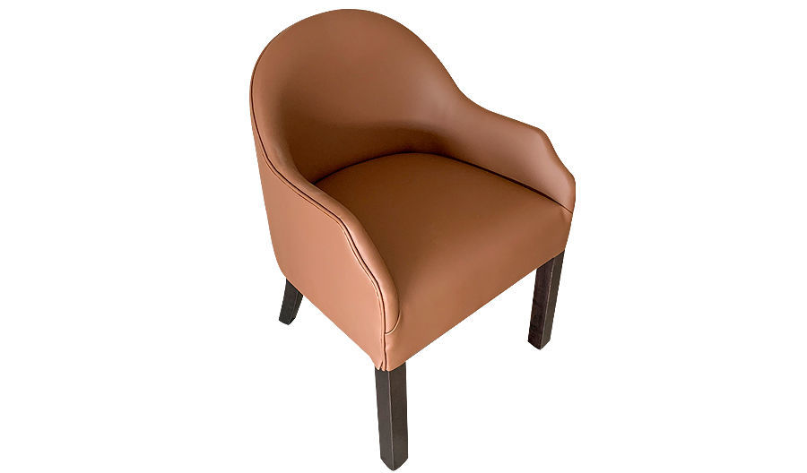 "32""  Kindel Fully Upholstered Barrel Chair"